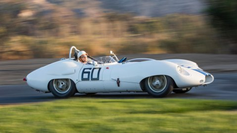 1959 Lister-Jaguar Sports Racer Bonhams Stirling Moss Cunningham