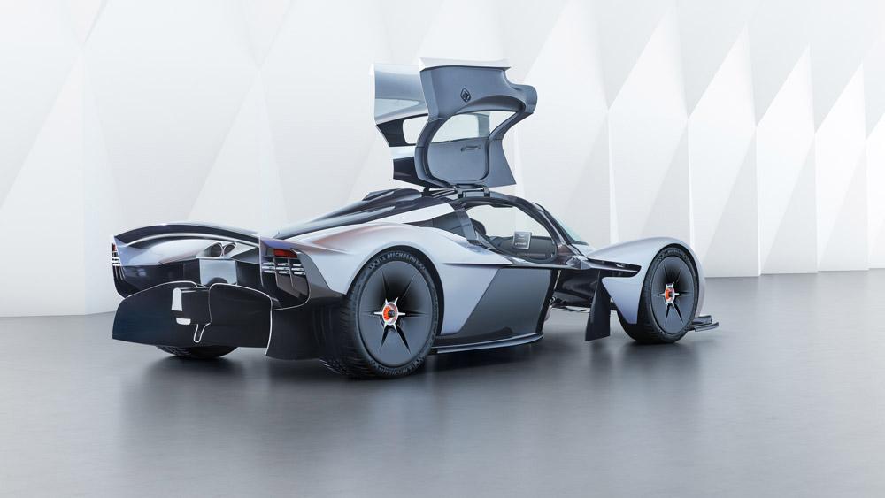 The Aston Martin Valkyrie.