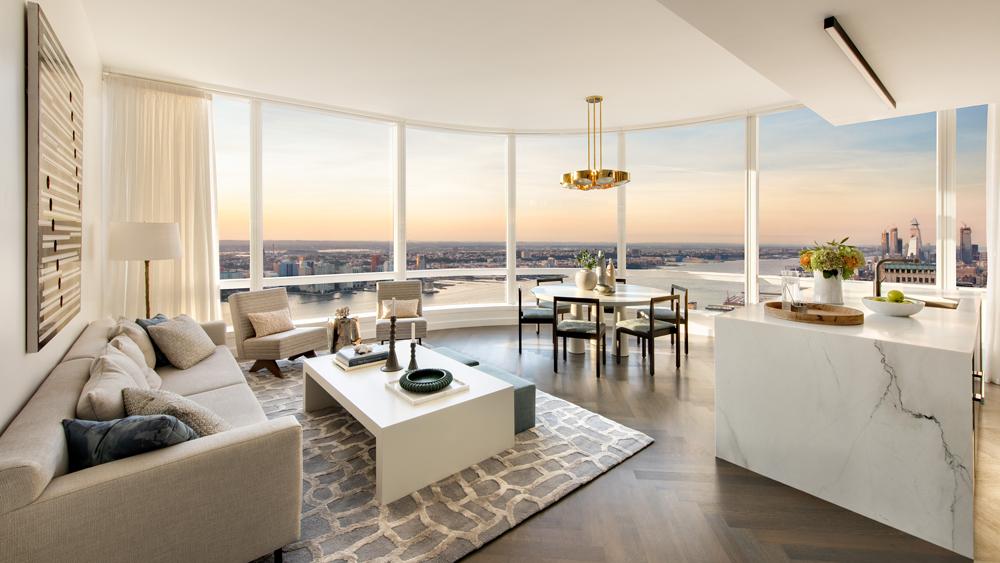 Model Residences at 111 Murray Street in New York