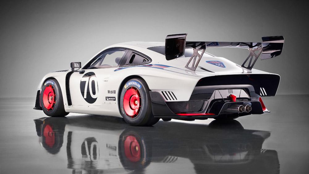 The 2019 Porsche 935.