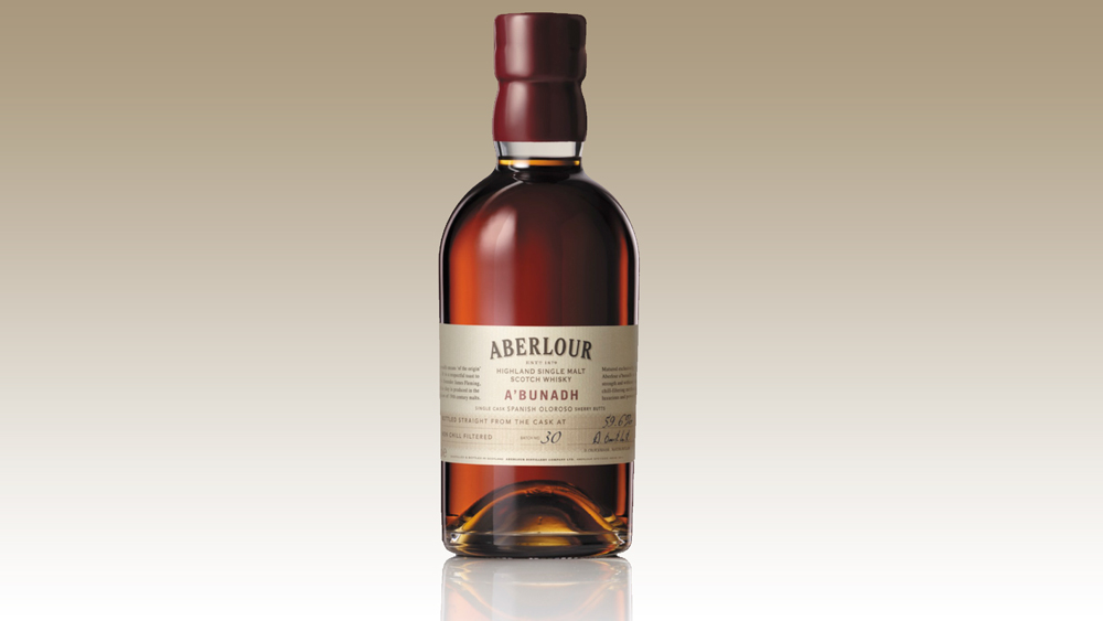 Aberlour A'Bunadh scotch whisky