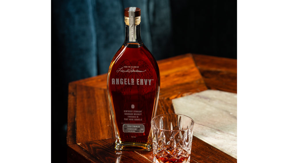 Angel's Envy Releases Cask Strength Bourbon Finished in Port Barrels