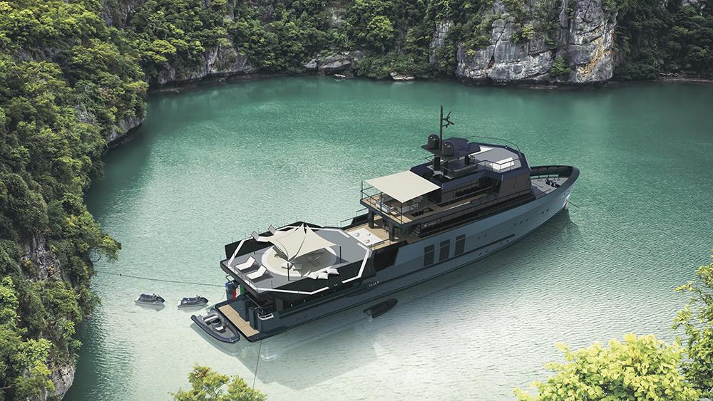 Baglietto 43m Explorer yacht