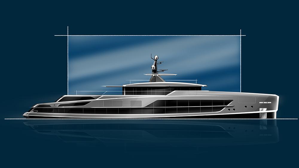 Baglietto 65m Concept Yacht