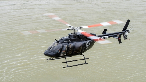 Bell 407GXi helicopter