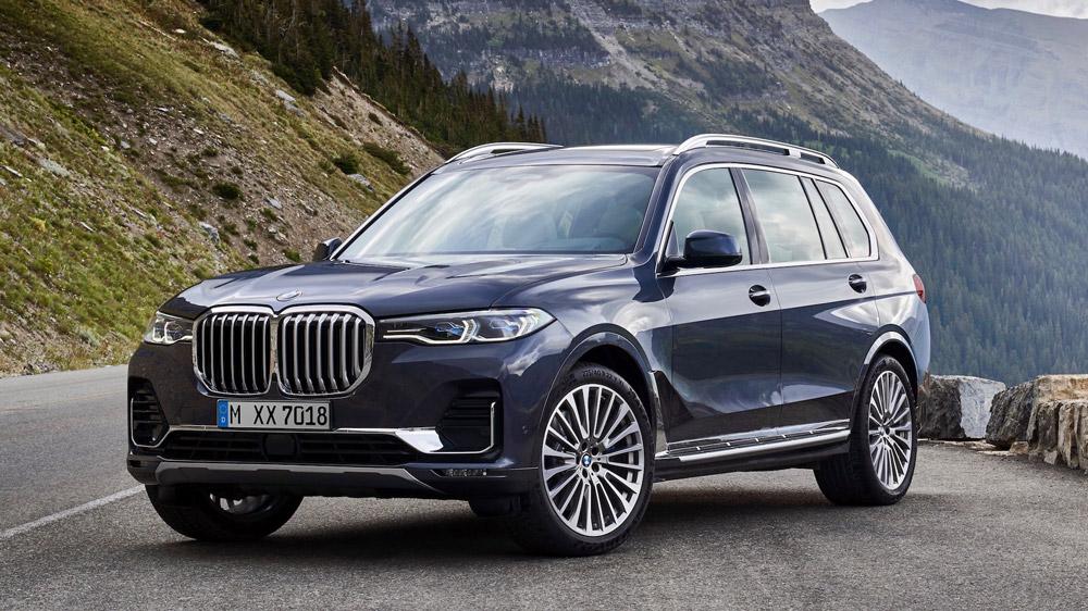 The 2019 BMW X7.