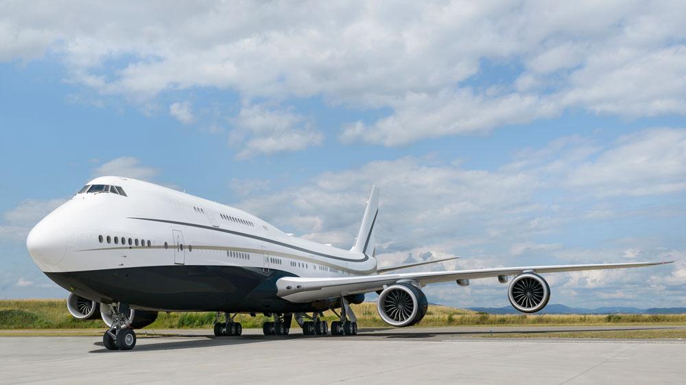 private Boeing 747-8