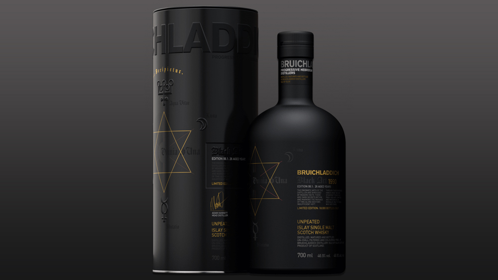 Bruichladdich Black Art scotch whisky