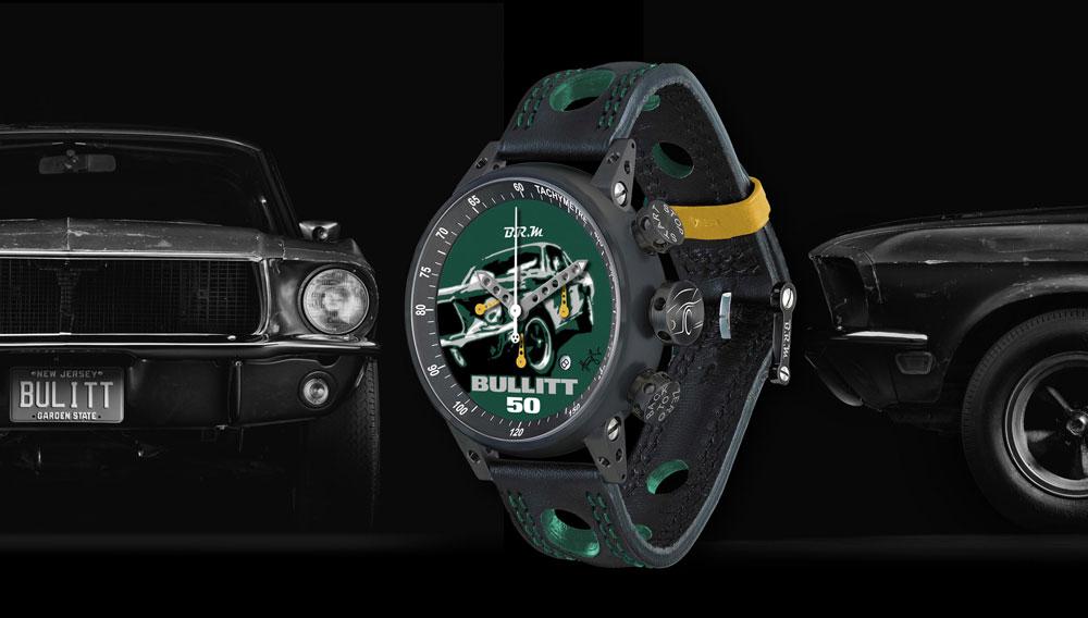 BRM Chronographes watch inspired by Bullitt