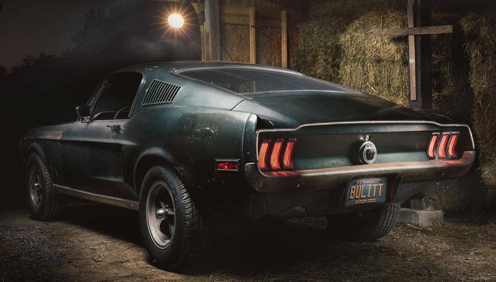 1968 Bullitt Mustang GT 390