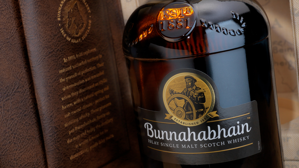 Bunnahabhain scotch whisky