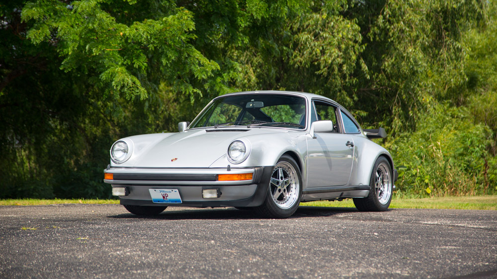 The 1979 Porsche 930 Turbo formerly owned by Walter Payton.