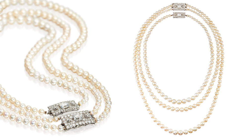 The Dodge Pearls by Cartier