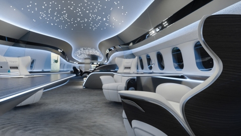 BBJ MAX 7 Genesis Cabin Concept