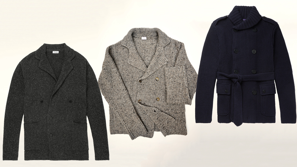 Double-Breasted Cardigans