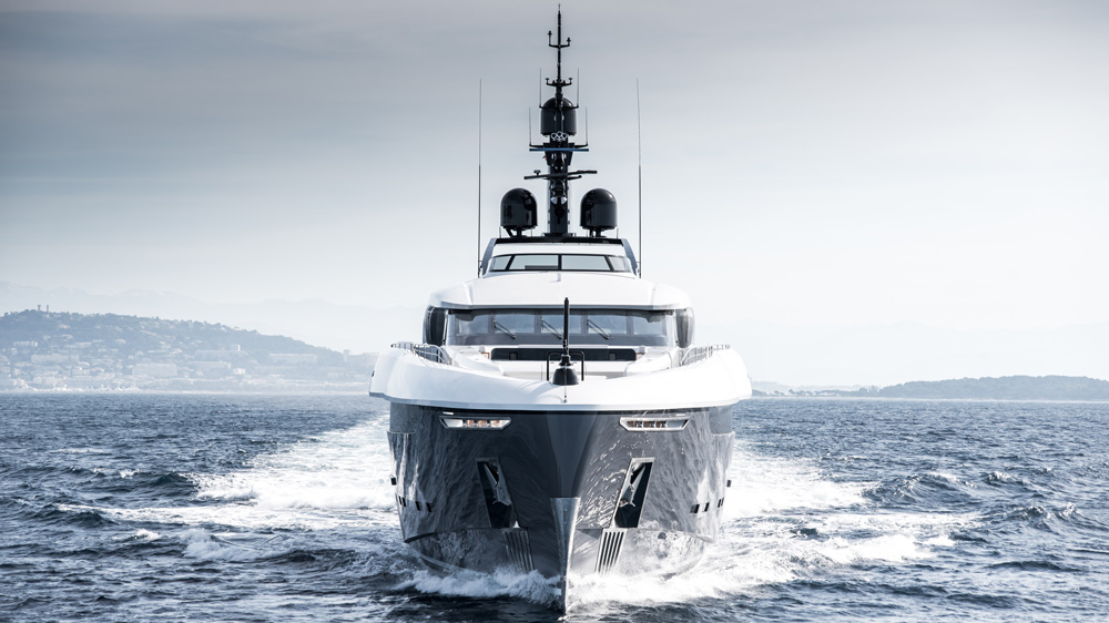 Rossinavi's Custom Utopia IV Superyacht