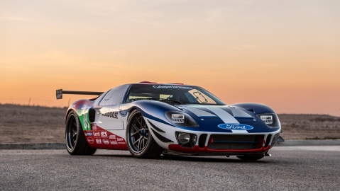 """Superformance """"Future GT Forty"""" GT40 supercar"""