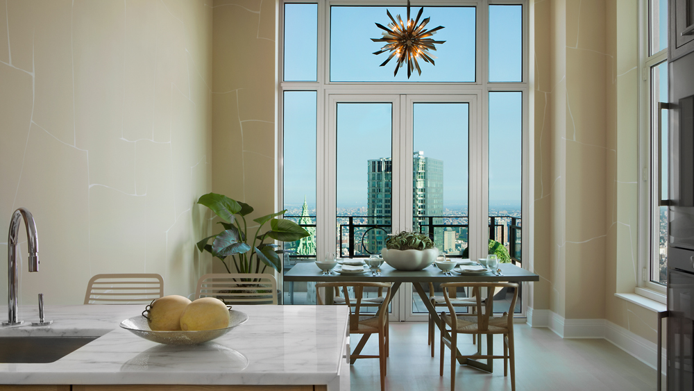 Half-Floor Penthouse at 30 Park Place in New York City
