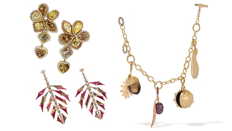Fall Floral Jewelry