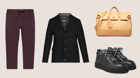 Fall Getaway Essentials menswear