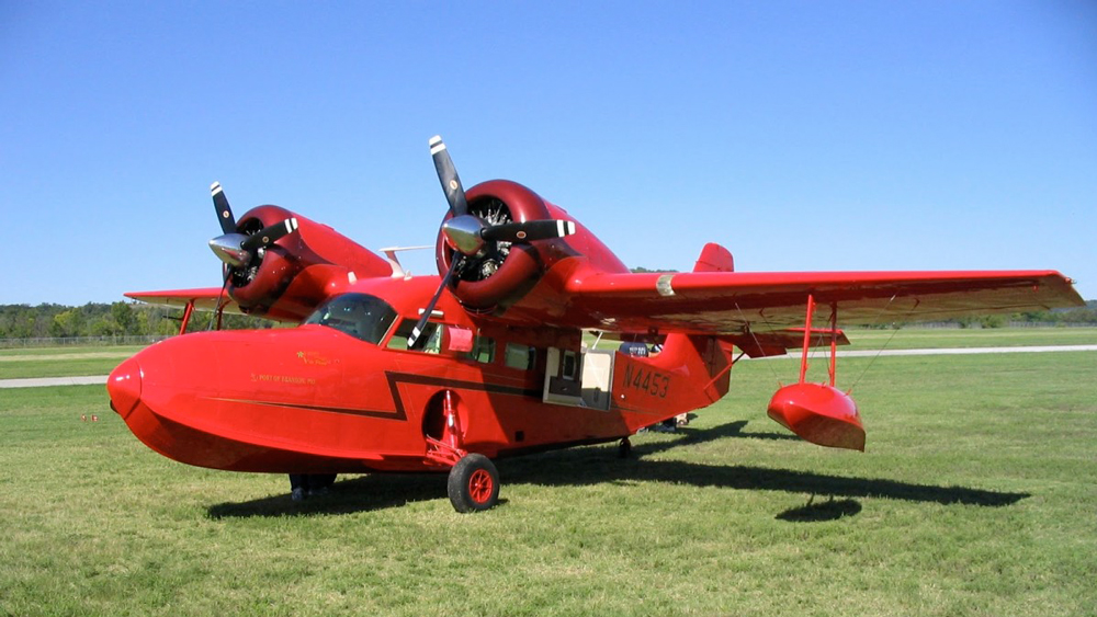 Fantasy Island plane