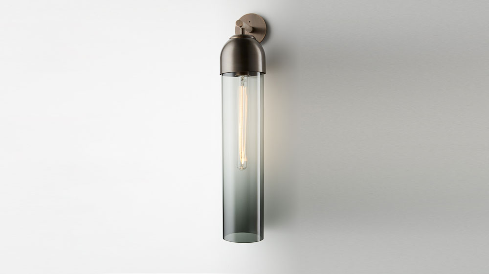grey wall sconce