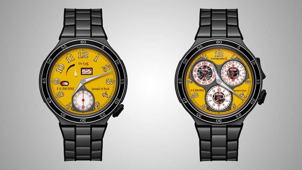 F.P. Journe Centigraphe Sport and Octa Sport
