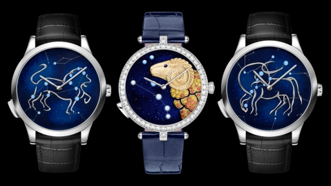 Van Cleef & Arpels Zodiac Lumineux Timepieces