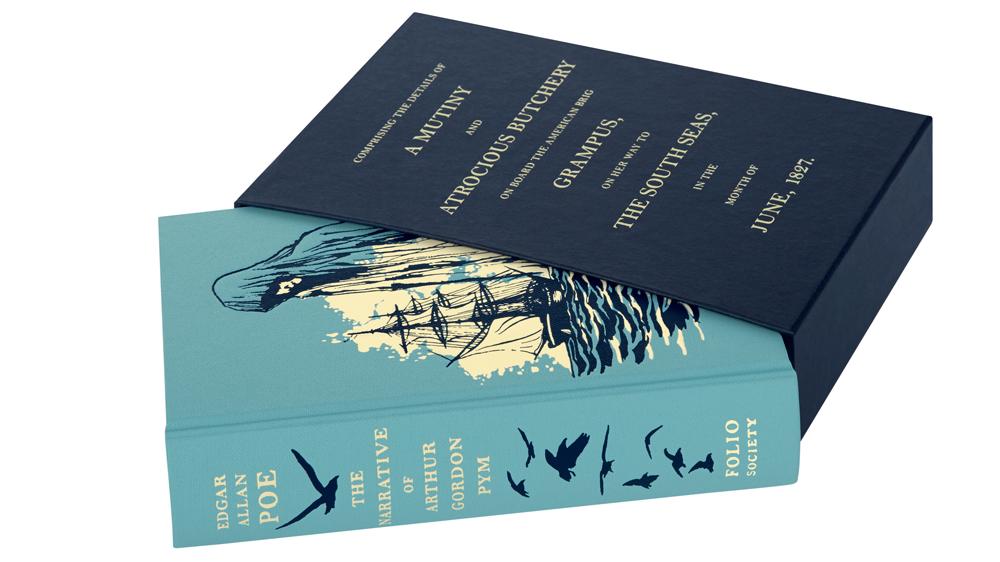 "The Folio Society's edition of Poe's ""The Narrative of Arthur Gordon Pym"""