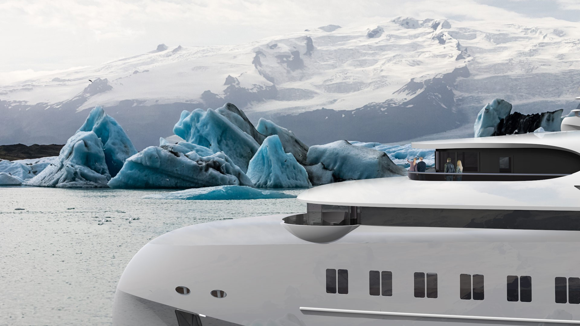 Hawk Yachts Ranger Expedition Yacht