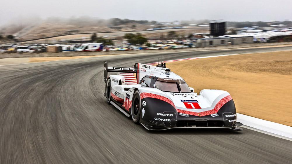 Porsche's Le Mans-winning 919 Hybrid Evo.