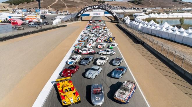 Revered racers from Porsche's pantheon at Rennsport Reunion VI.