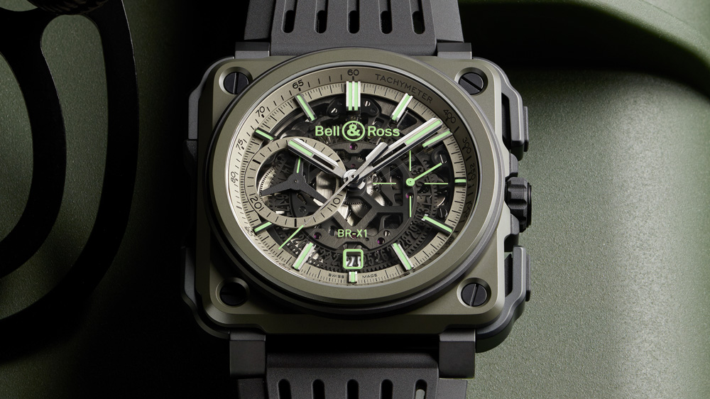 Bell & Ross BR-X1 Military watch