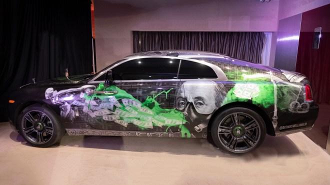 Rolls-Royce Wraith by Art J. Williams, Jr.