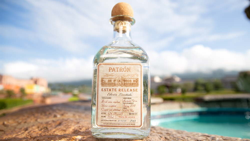 Patrón Estate tequila