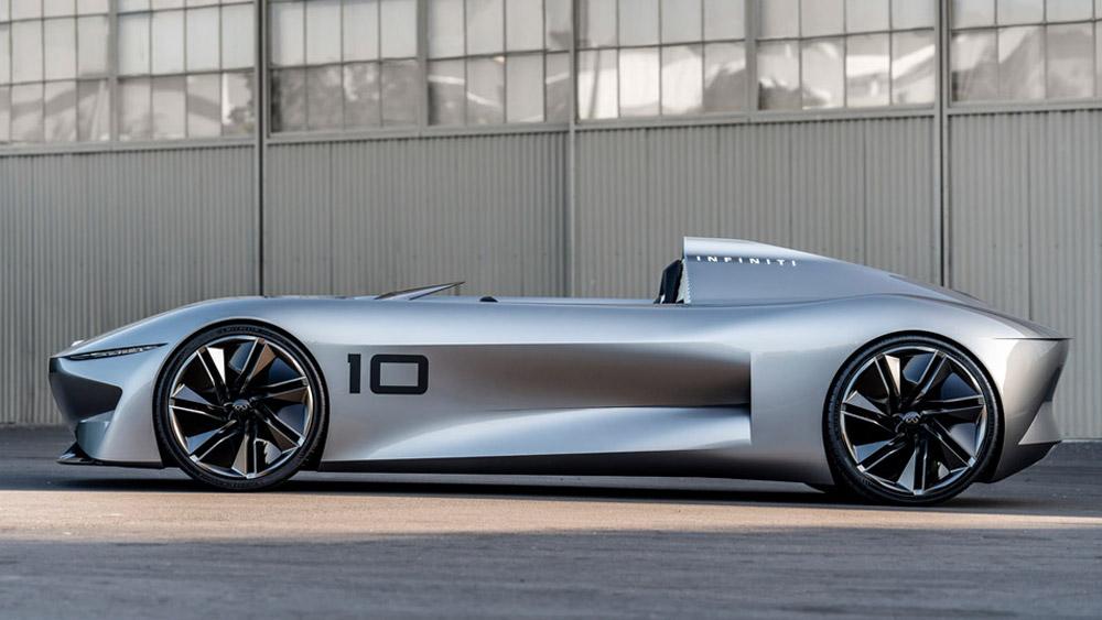 Infiniti's all-electric Prototype 10 Concept.