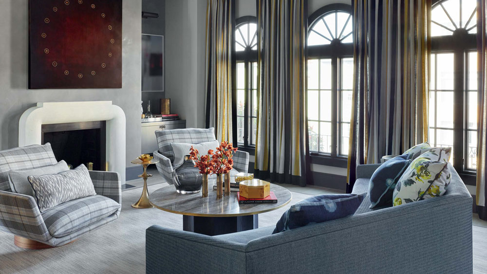 living room by Jay Jeffers