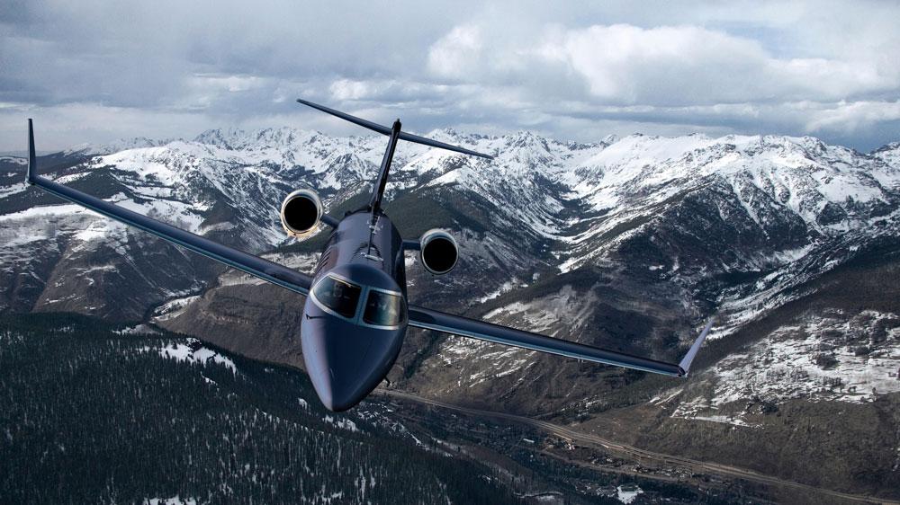 Surf Air Learjet