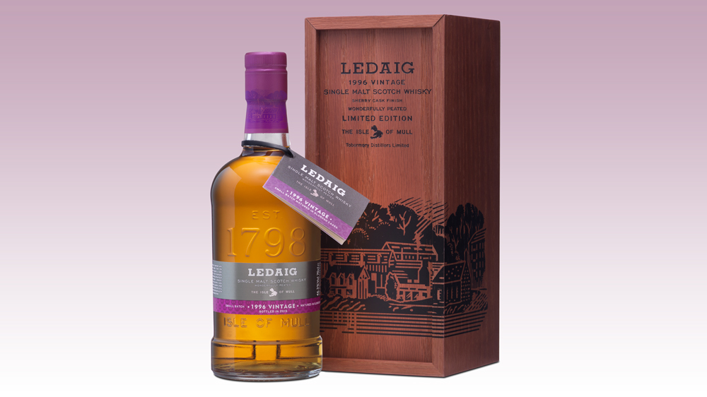 Ledaig 1996 19 Years Old scotch whisky