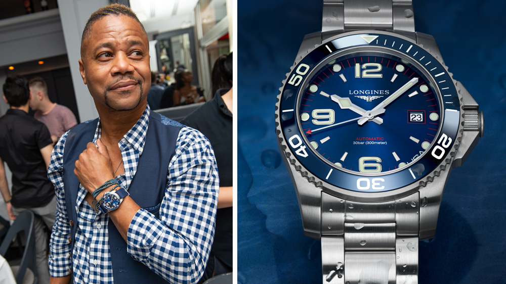 Cuba Gooding Jr. in Longines