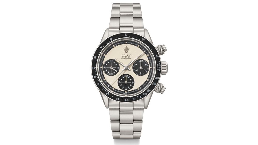 rare Rolex Daytona Paul Newman watch