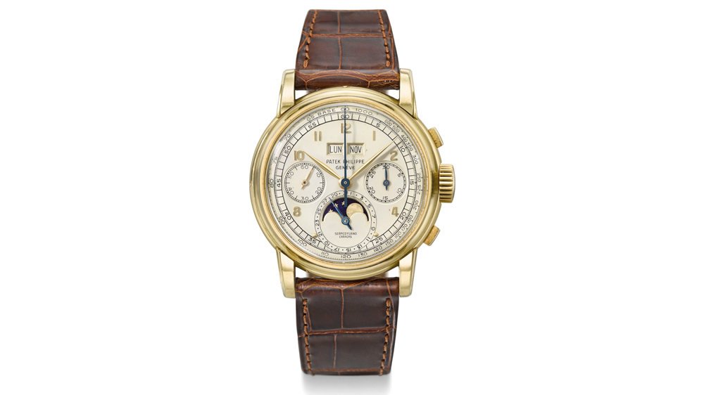 rare Patek Philippe Ref. 2499 watch