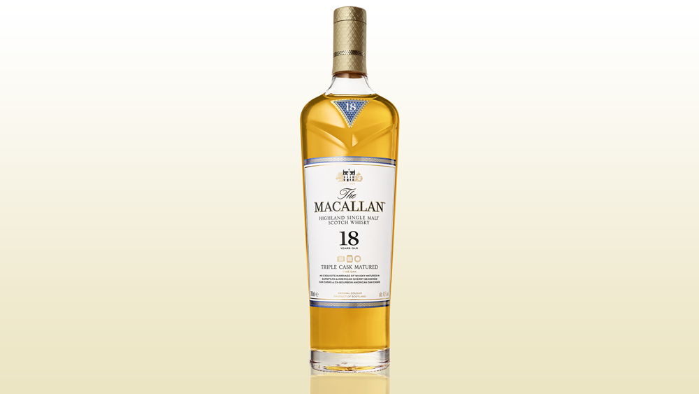 The Macallan Triple Cask scotch whisky