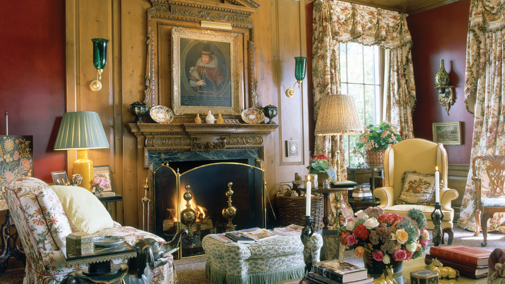 Mario Buatta interior design