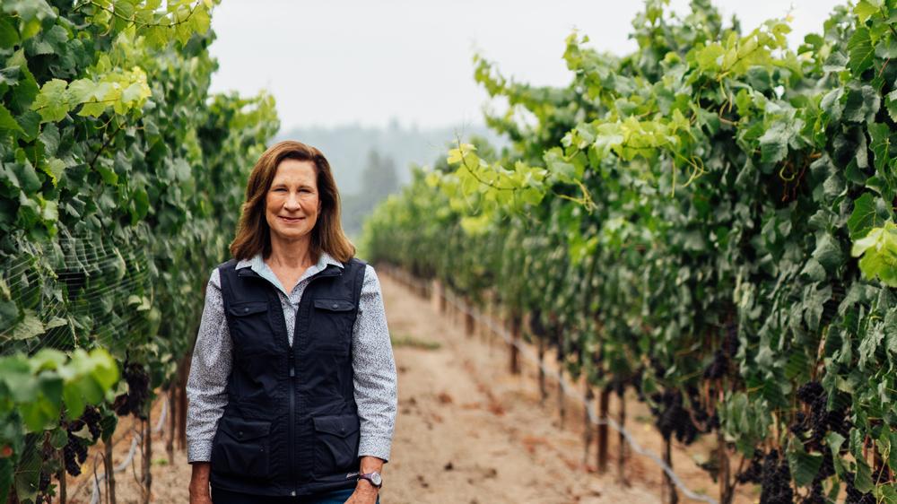 Vintner Merry Edwards wine