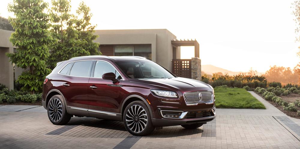 The 2019 Lincoln Nautilus.
