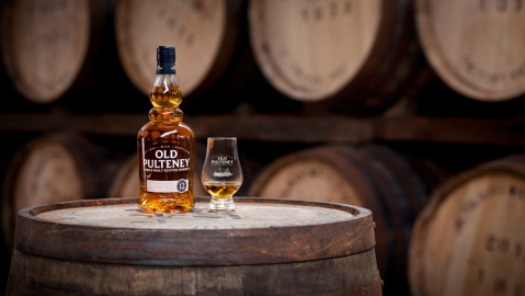 Old Pulteney 21 Year Old scotch whisky