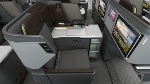 BMW Designworks Business Class Cabin