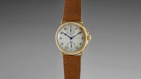 Patek Philippe Single Button chronograph
