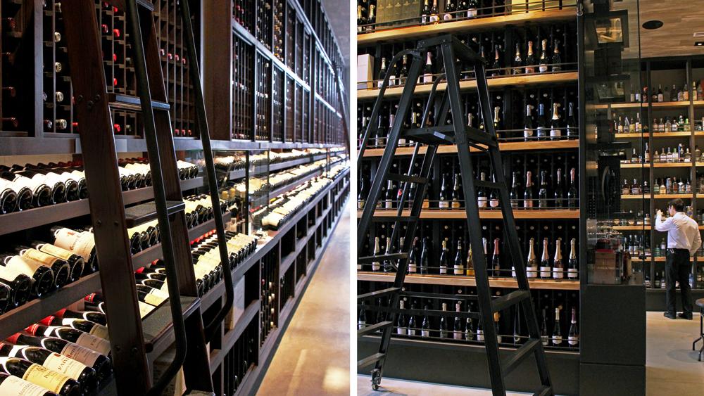 Wally's Santa Monica wine